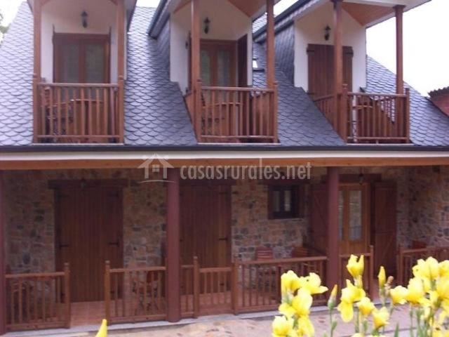Balcones y porches privados de las habitaciones