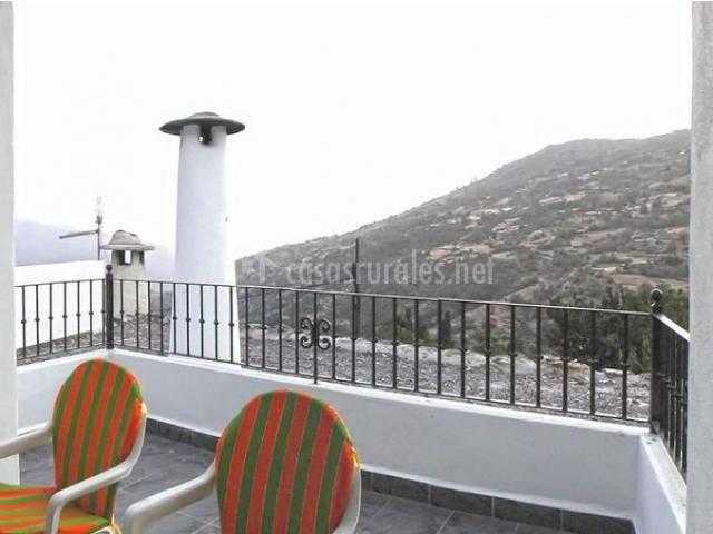 Vistas de la terraza con panorámica del entorno