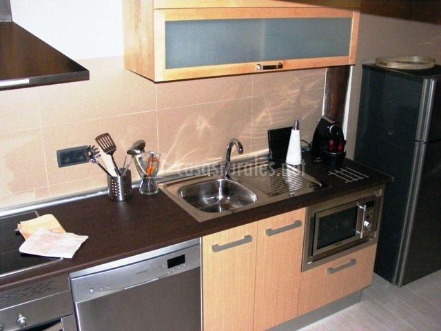 Electrodomésticos nuevos en la cocina
