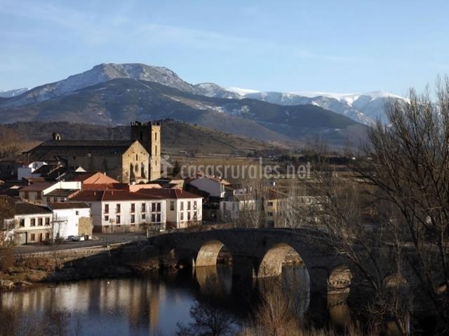Río Tormen y Sierra de Gredos