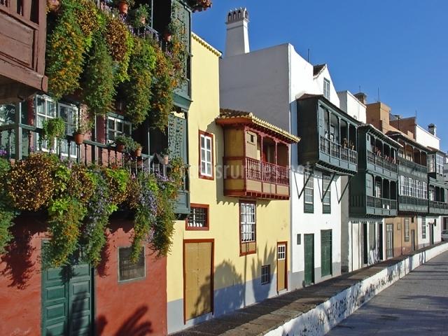 Casas Santa cruz de la Palma