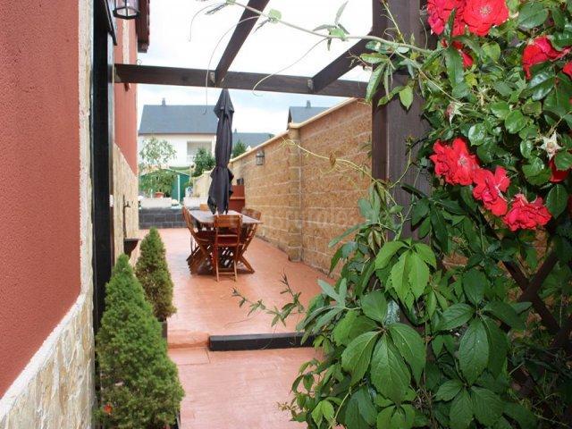 Mesa del patio