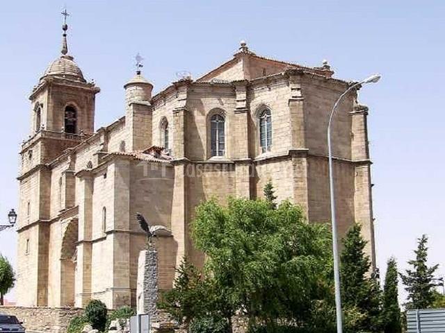 Iglesia de San Sebastián en Villacastín