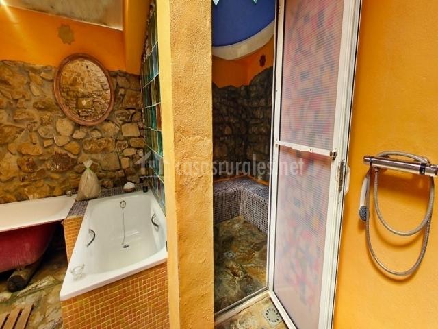 Casa rural ahora en el colmenar estacion de gaucin m laga - Bano turco en casa ...