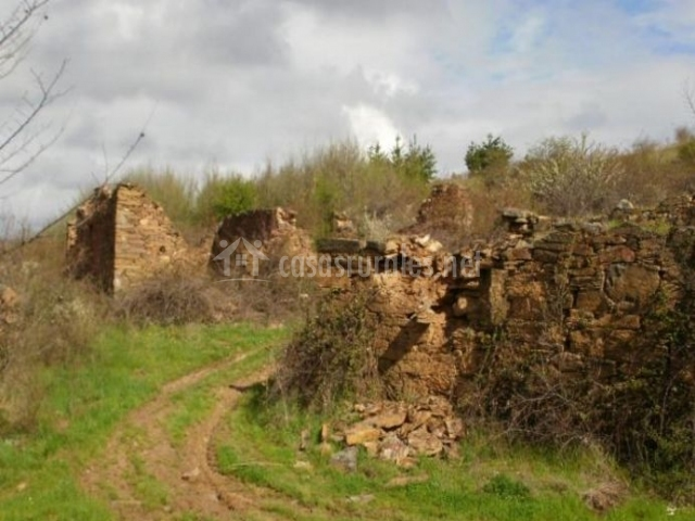 Zona de ruinas en Berlanga
