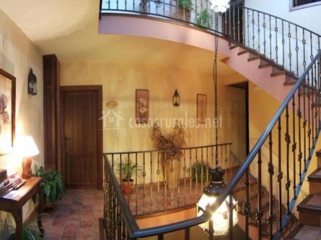 Escaleras con decoración