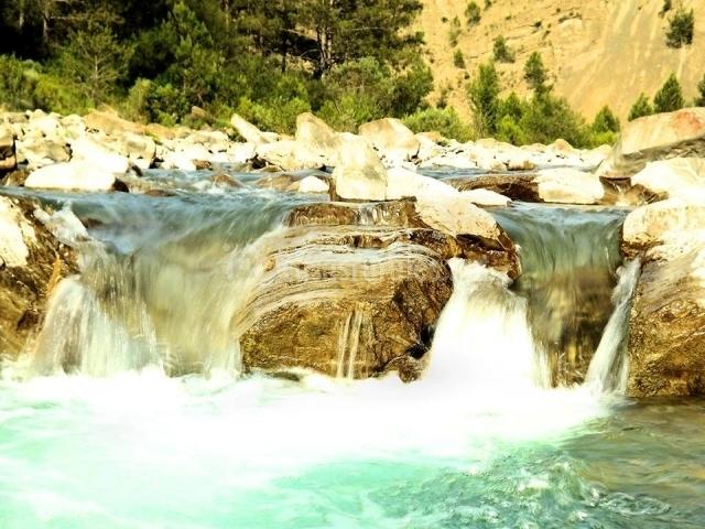Zona de cascadas y de baño