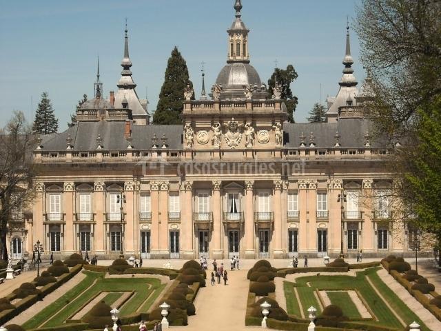 Palacio Real de la Granja de San Ildefonso (Segovia)