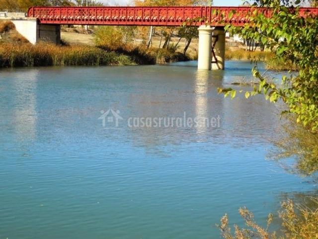 Zona río Tajo en el entorno de la cas