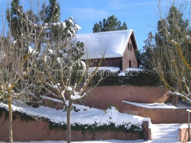 Bungalow en invierno