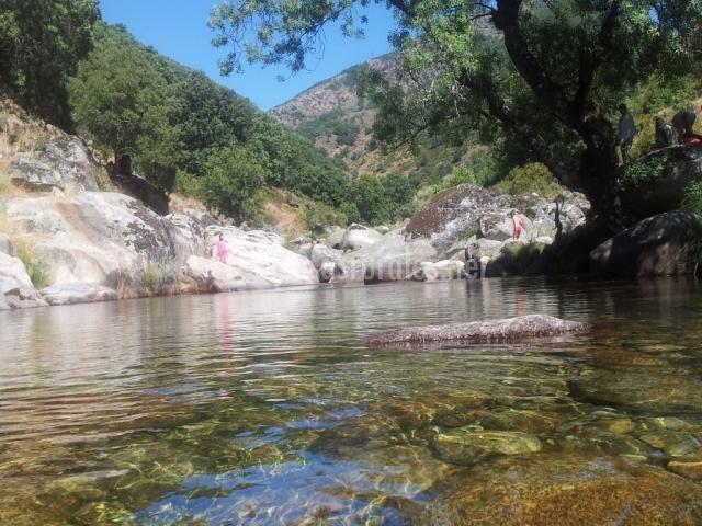 Río Jertey su piscina natural