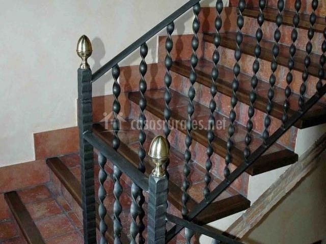 Barandilla de la escalera