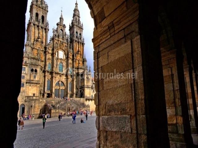 Casco antiguo de Santiago de Compostela