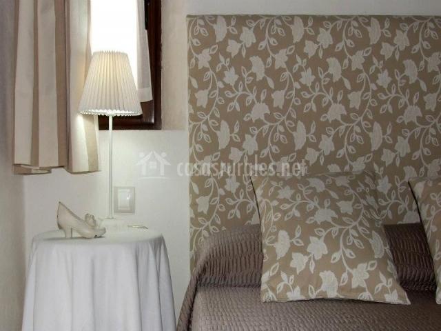 Detalle dormitorio de matrimonio