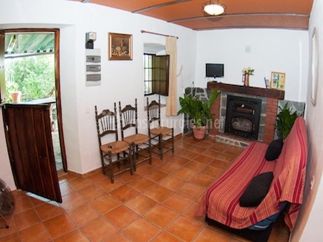 Amplia sala de estar