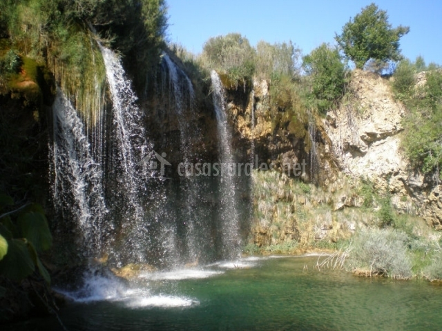 Cascada en la Sierra de Albarracín
