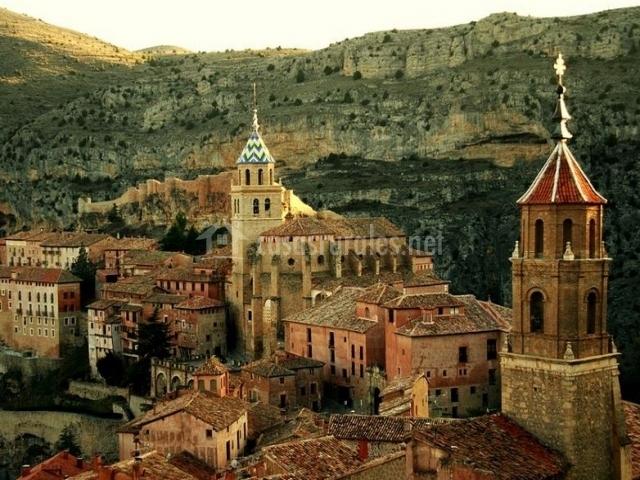 Zona centro de Albarracín