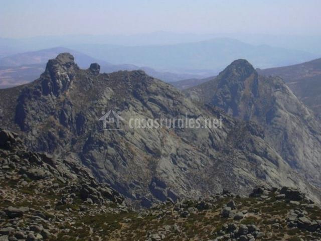 Zona natural del Pico Zapatero