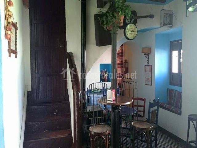 Vistas del bar en el que degustar nuestra gastronomía