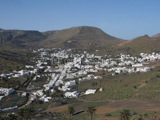 Zona de paisajes en Haría