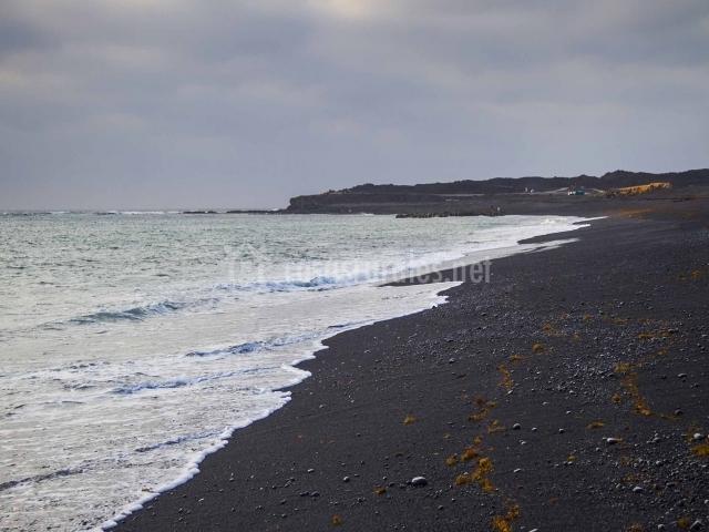 Playa Salinas del Janubio
