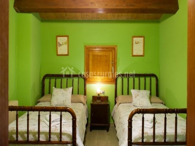 Dormitorio para 4 con camas individuales