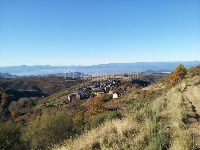 Zona de Espinoso vista desde el alto