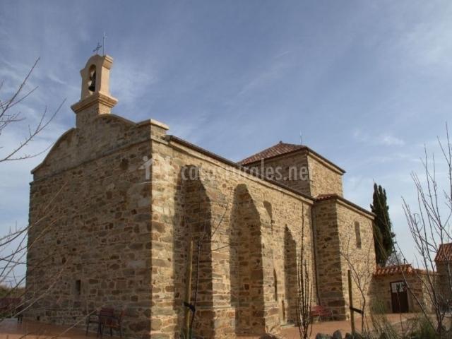 Zona de la iglesia en Rabanal