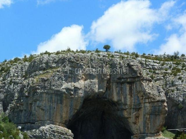 Zona de la cueva
