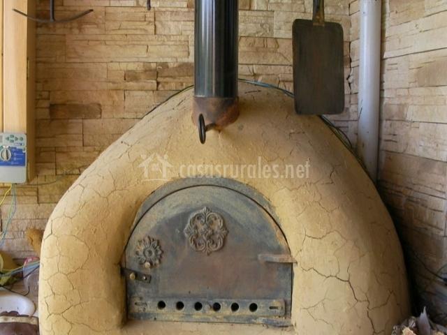 Vistas del horno tradicional