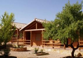 Cabañas de Madera Los Molinos- Casas para 6