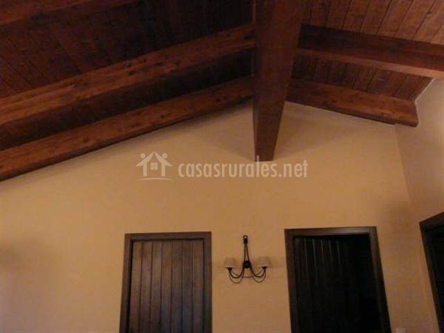 Apliques y techos de la casa