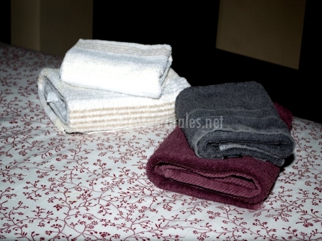 Toallas y ropa de cama incluidas