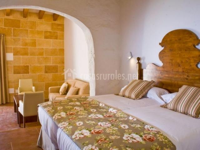 Junior Suite con detalles florales