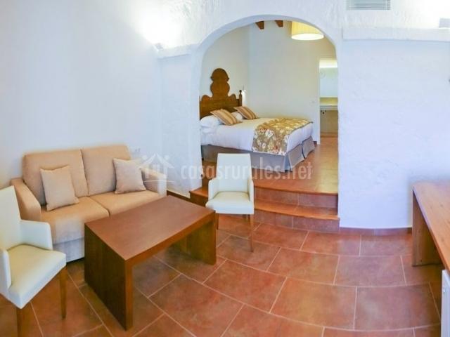 Junior Suite con sala de estar