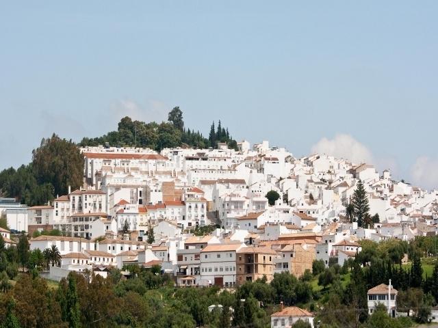 Vista general del pueblo de Prado del Rey