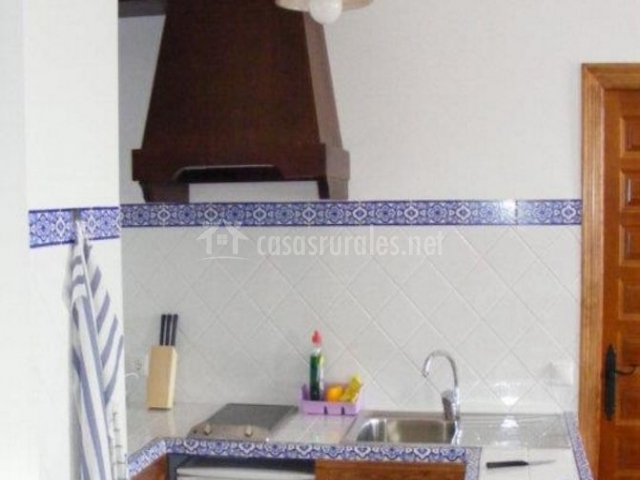 Cocina con azulejo