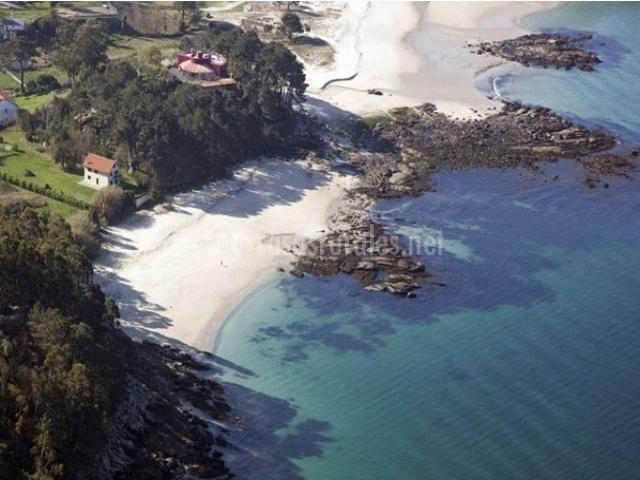 Zona de Porto do Son y sus playas