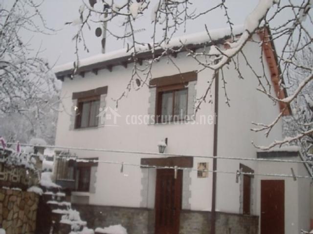 La casa en invierno