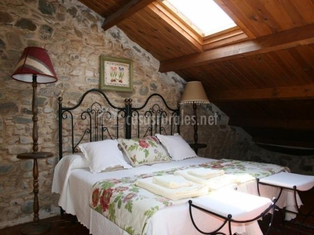Dormitorio en la buhardilla