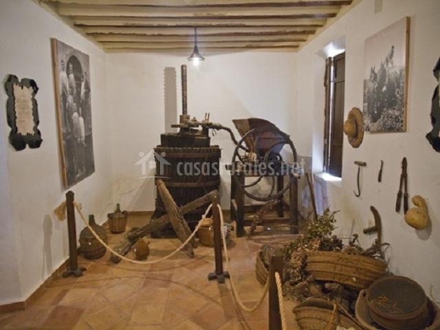Museo etnográfico por dentro