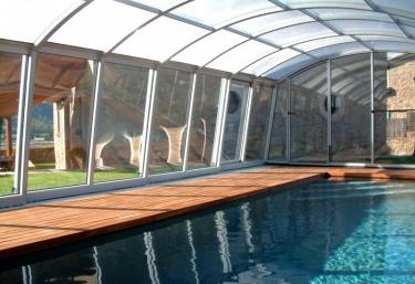 Casas rurales en montmajor con piscina - Casa rural piscina interior ...
