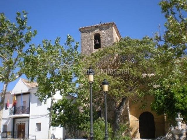 La iglesia parroquial de la zona