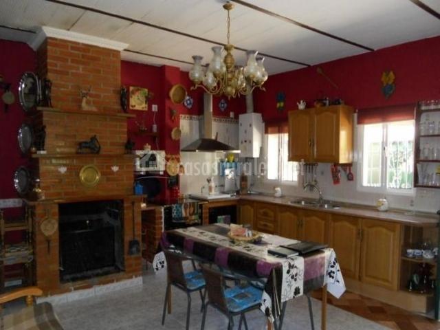 Comedor cocina y sala de estar