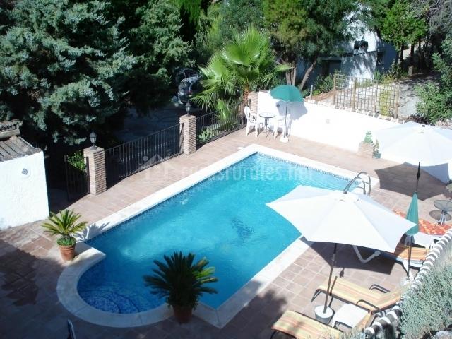 Solárium con piscina