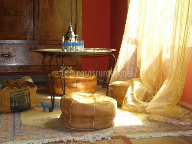 Salón de estilo árabe