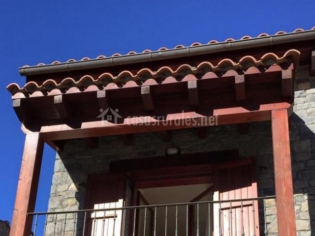 Balcón de la segunda planta
