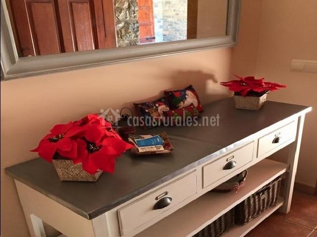 Mueble del recibidor
