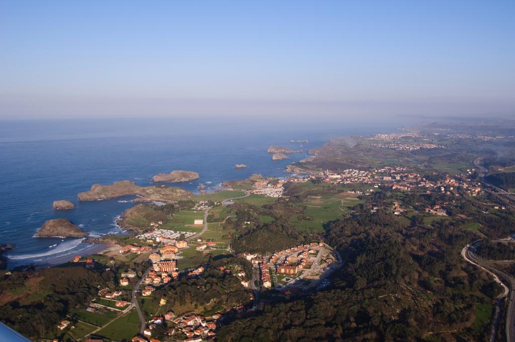 vista aerea celorio y llanes