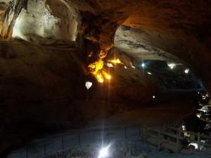 Cuevas soterradas en Navarra
